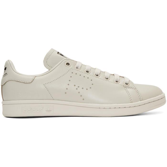 Raf Simons Grey adidas Originals Edition Stan Smith Sneakers