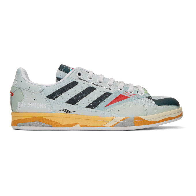 Photo: Raf Simons Multicolor adidas Originals Edition Torsion Stan Smith Sneakers