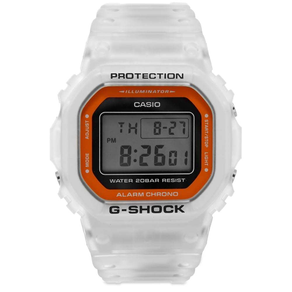 Photo: Casio G-Shock DW-5600LS See-Thru Colour Pop Watch