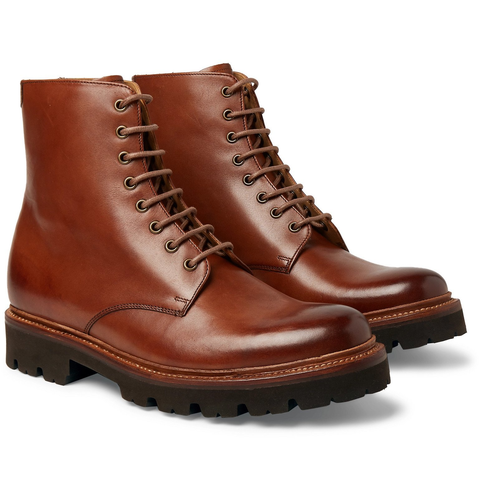 Photo: Grenson - Hadley Leather Boots - Brown