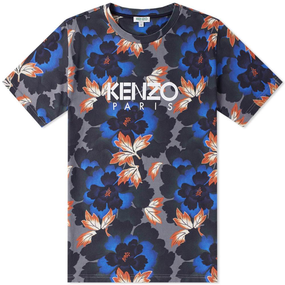 Photo: Kenzo Floral Logo Tee
