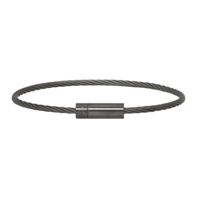 Photo: Le Gramme Brushed Le 9 Grammes Cable Bracelet
