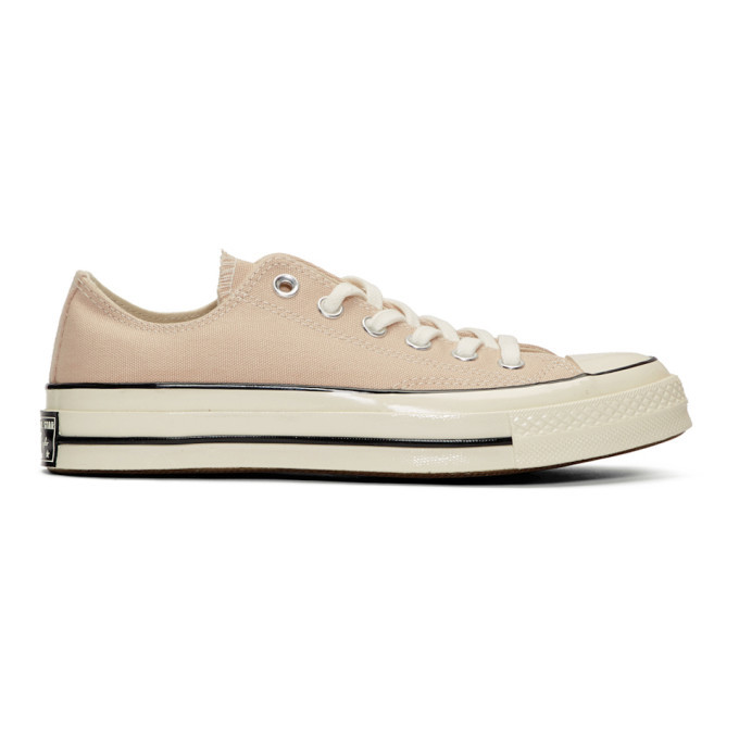 Photo: Converse Beige Chuck 70 Low Sneakers