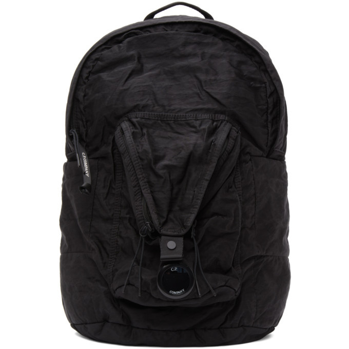 Photo: C.P. Company Black Nylon B Garment-Dyed Backpack