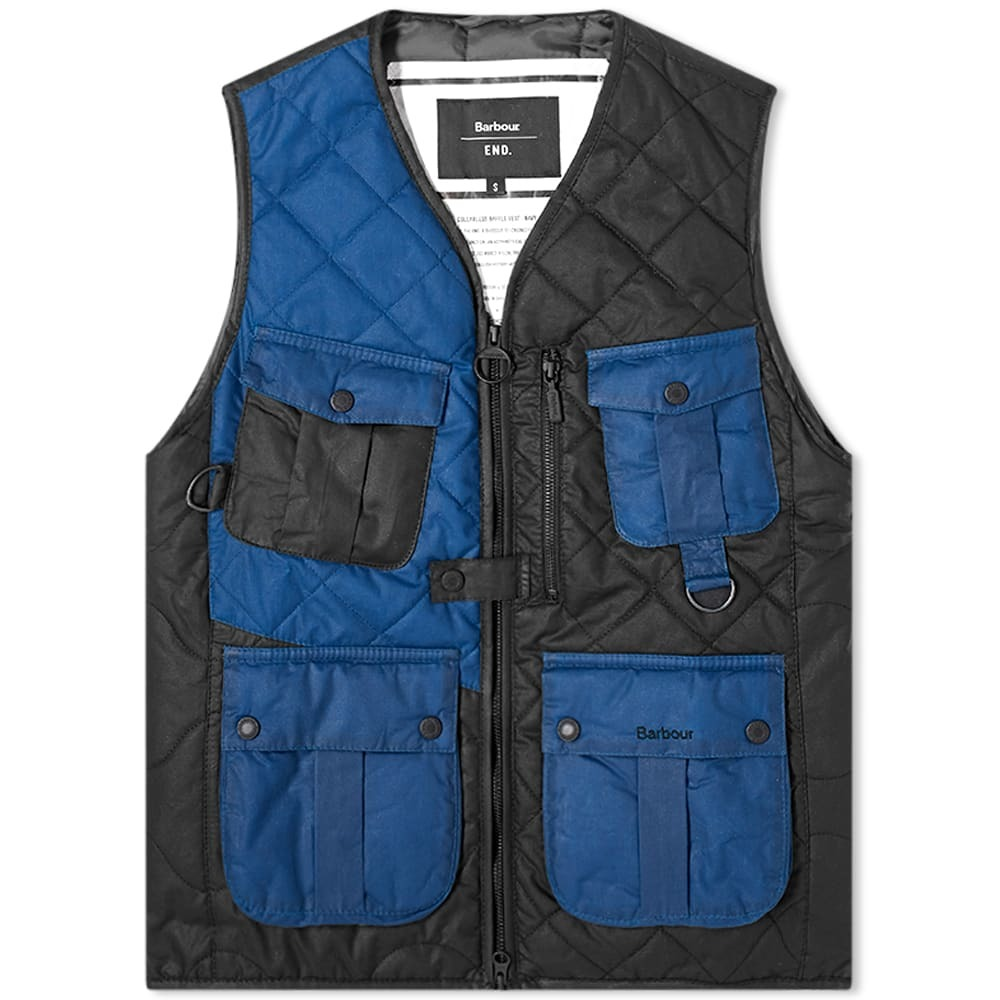 Photo: END. x Barbour Re-engineered Fishing Vest