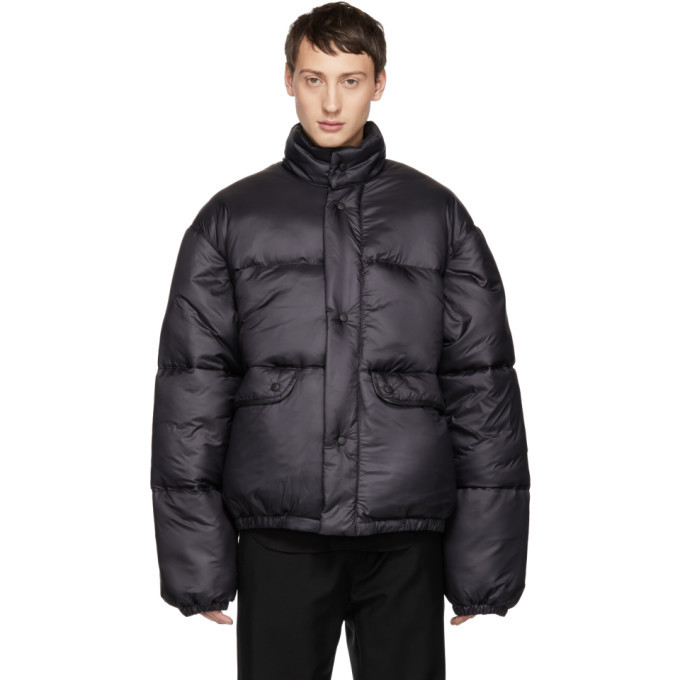 Photo: Our Legacy Navy Down Lenox Jacket