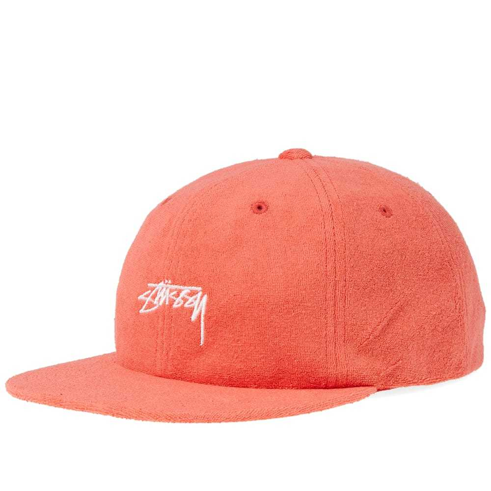 Photo: Stussy Terry Cloth Cap Red