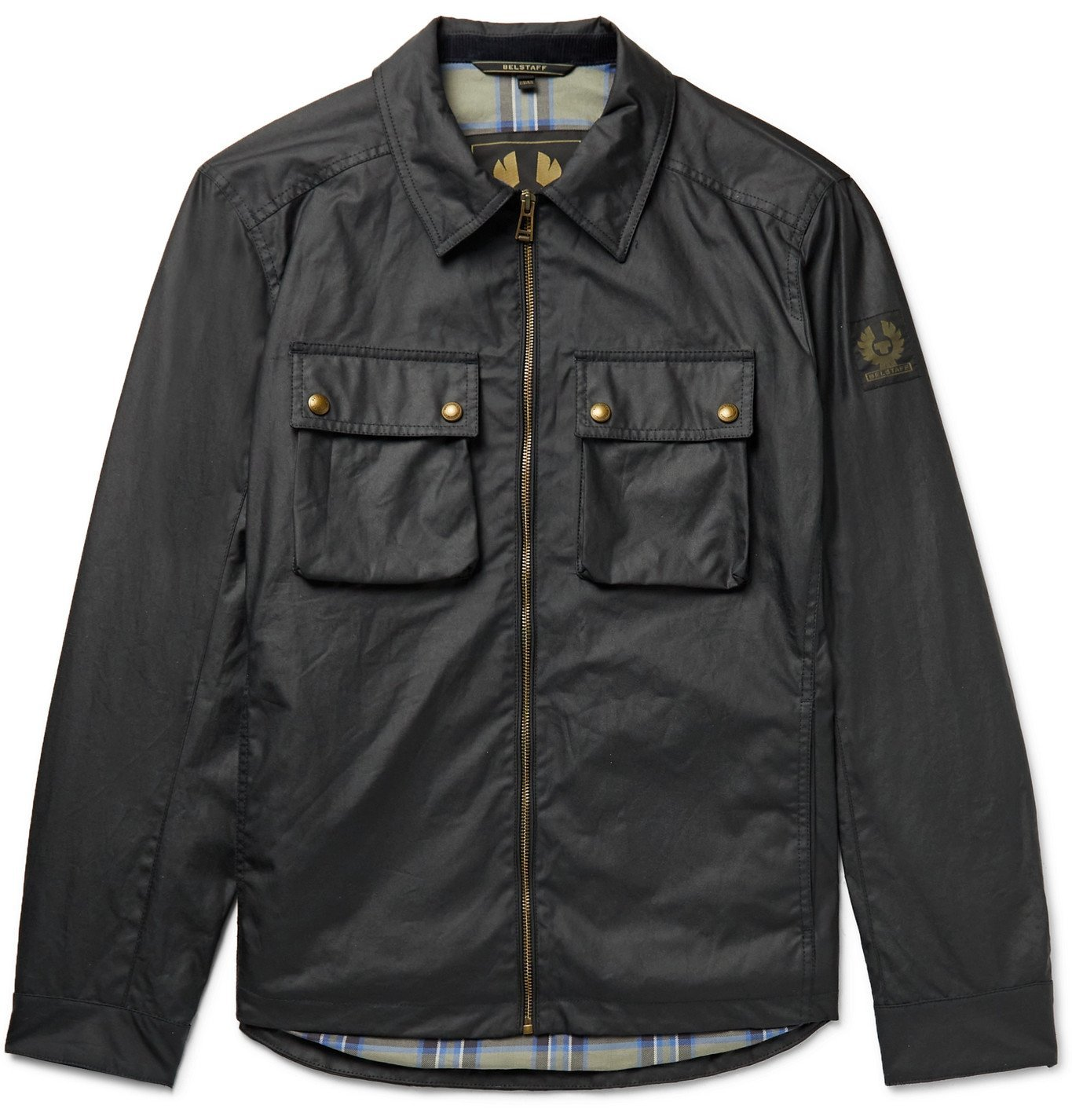 Photo: BELSTAFF - Dunstall Waxed-Cotton Jacket - Blue