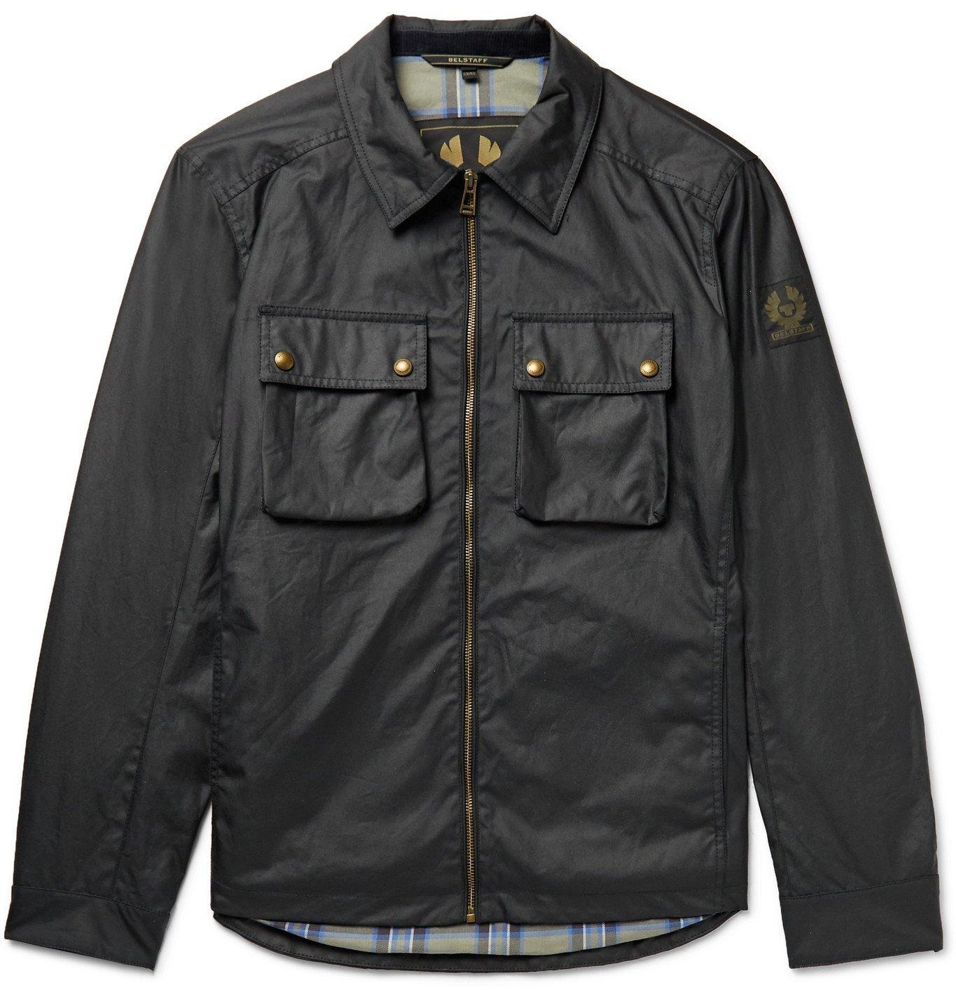 BELSTAFF - Dunstall Waxed-Cotton Jacket - Blue