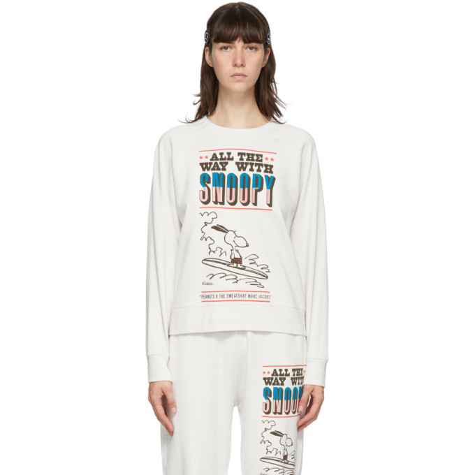 Photo: Marc Jacobs Off-White Peanuts Edition French Terry Sweatshirt