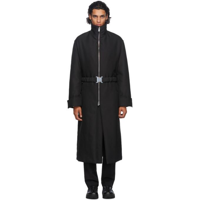 Photo: 1017 ALYX 9SM Black Buckle Evening Coat