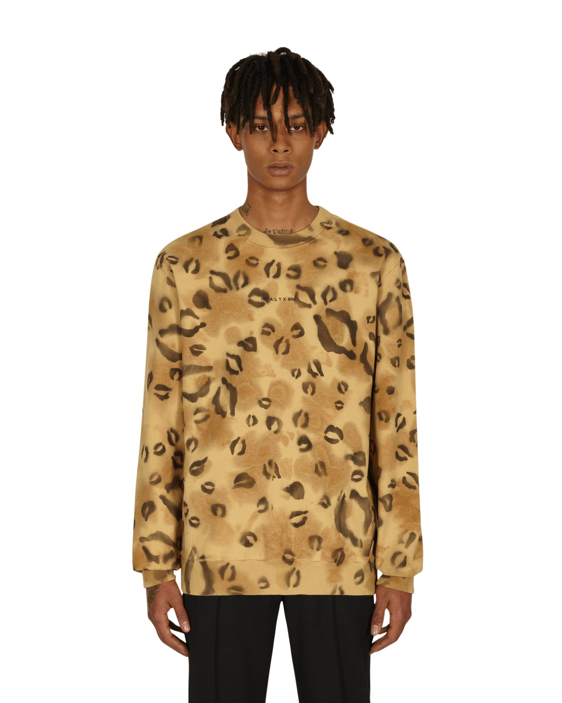 Photo: 1017 Alyx 9sm Leo Crewneck Sweatshirt Leopard Pattern