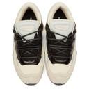Raf Simons White and Grey adidas Originals Edition Ozweego III Sneakers