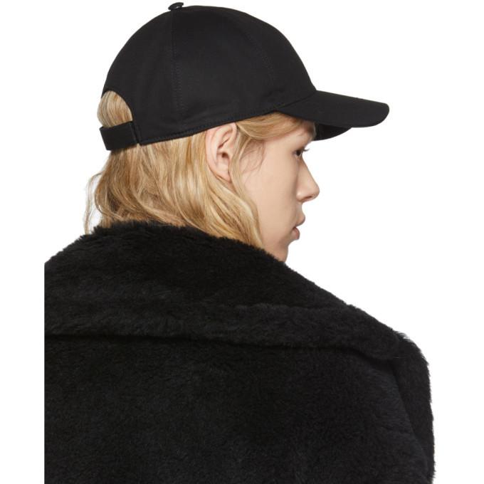 Versace Black Safety Pin Cap