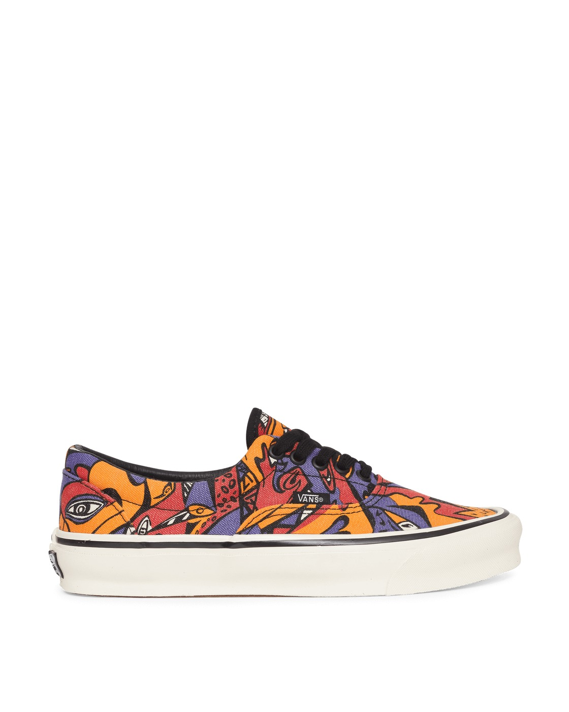Photo: Vans Og Era Lx Sneakers Purpl/Orange