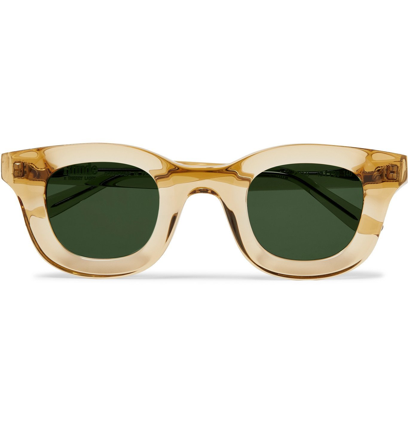 Photo: Rhude - Thierry Lasry Rhodeo Square-Frame Acetate Sunglasses - Yellow