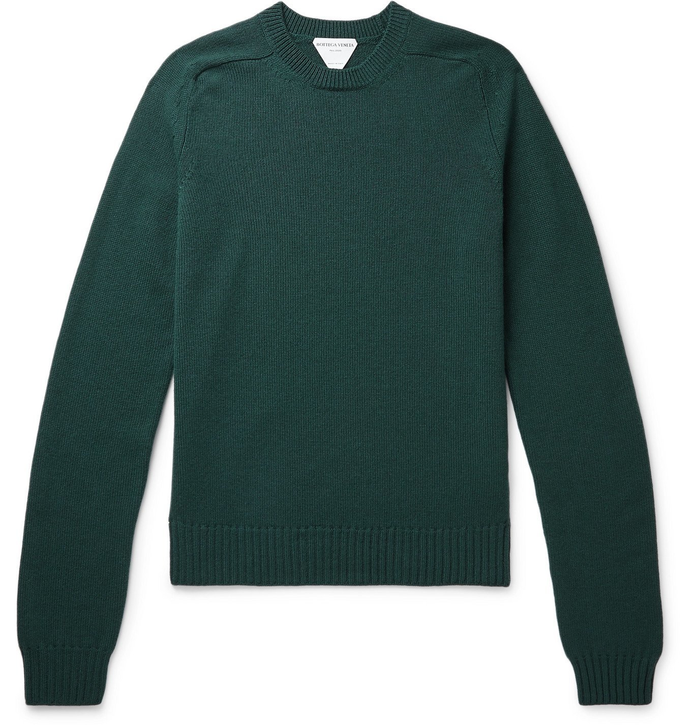 Photo: Bottega Veneta - Wool Sweater - Green
