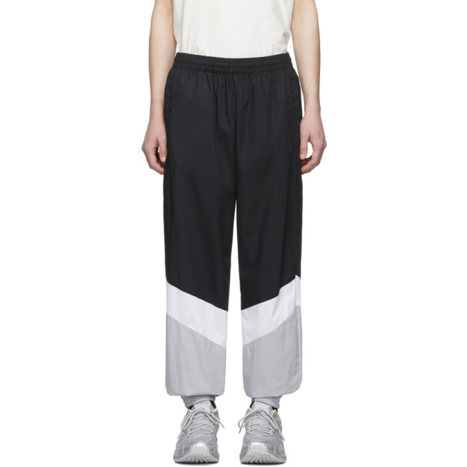 Photo: Vetements Black and Grey Mustermann Track Pants