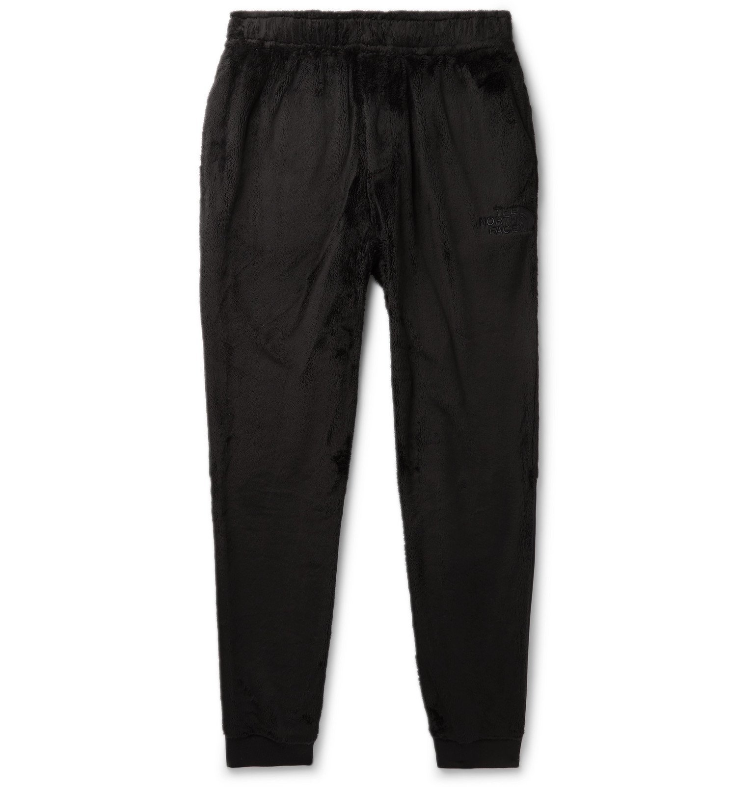 Photo: The North Face - Kazuki Kuraishi Black Series Tapered Shell-Panelled Fleece Trousers - Black