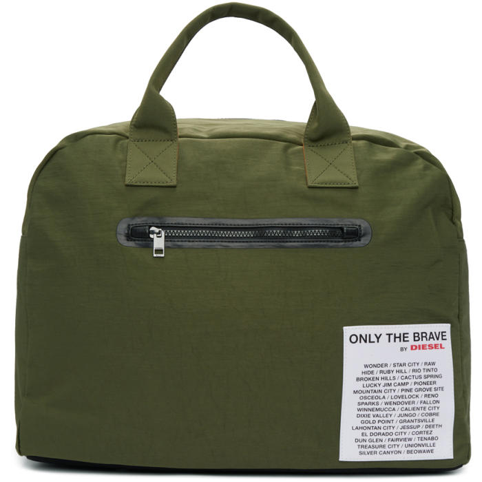 Photo: Diesel Reversible Green XX Match Duffle Bag