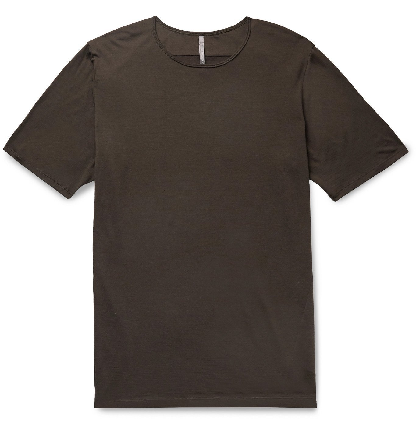 Photo: Veilance - Frame Wool and Nylon-Blend Jersey T-Shirt - Brown