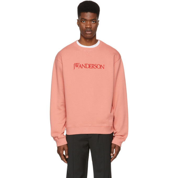 Photo: JW Anderson Pink Logo Sweatshirt