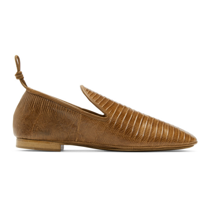 Photo: Lemaire Tan Soft Loafers
