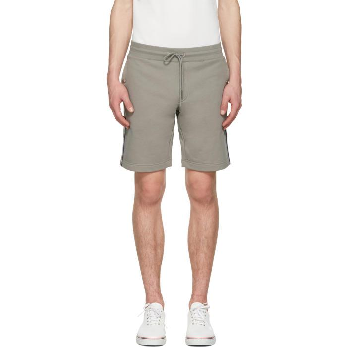 moncler grey shorts