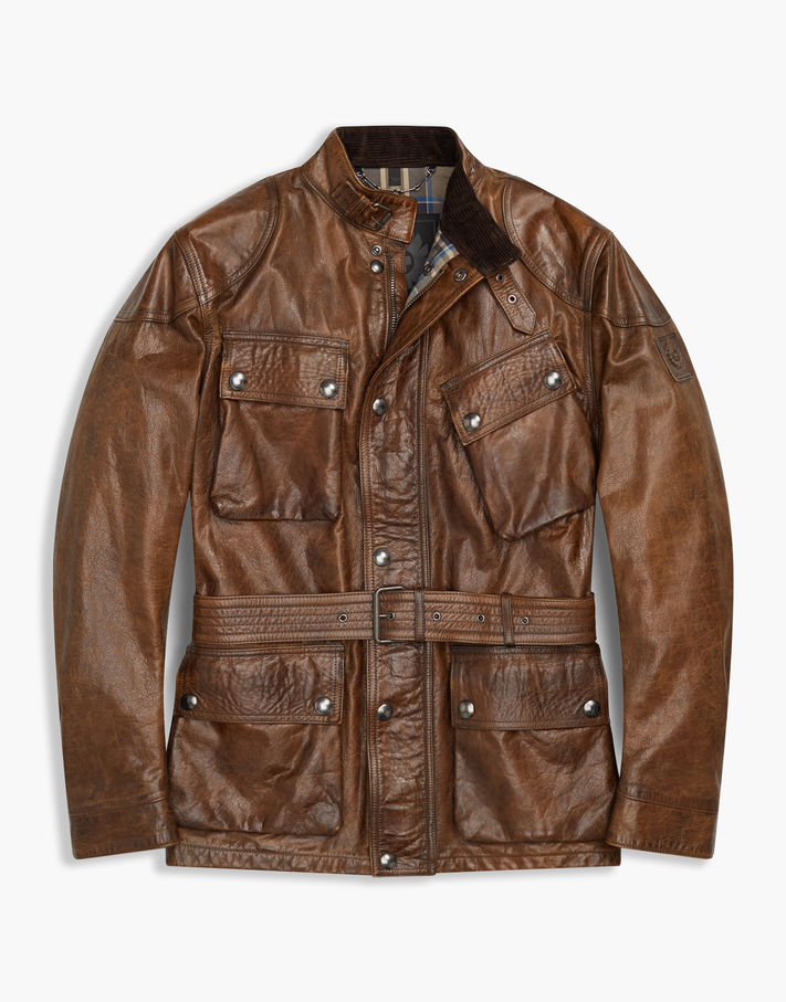 Belstaff The Panther Jacket Brown