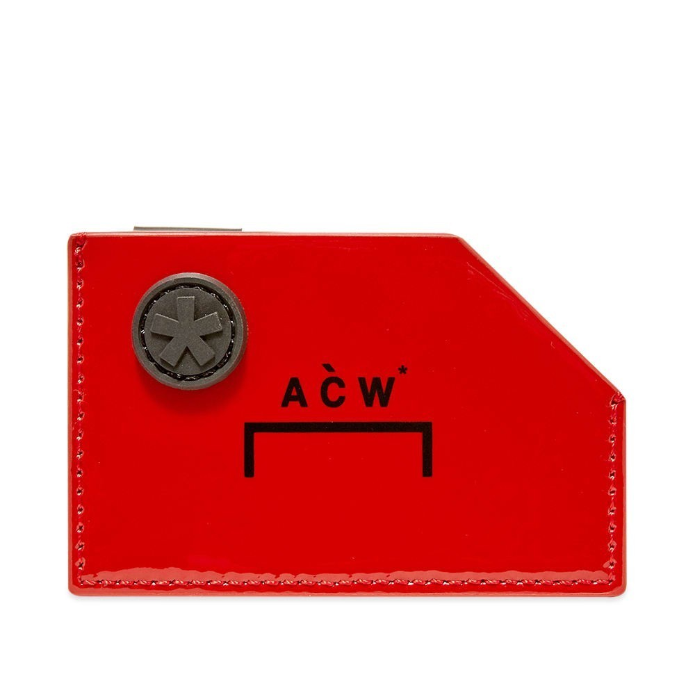 Photo: A-COLD-WALL* Die Cut Patent Card Holder
