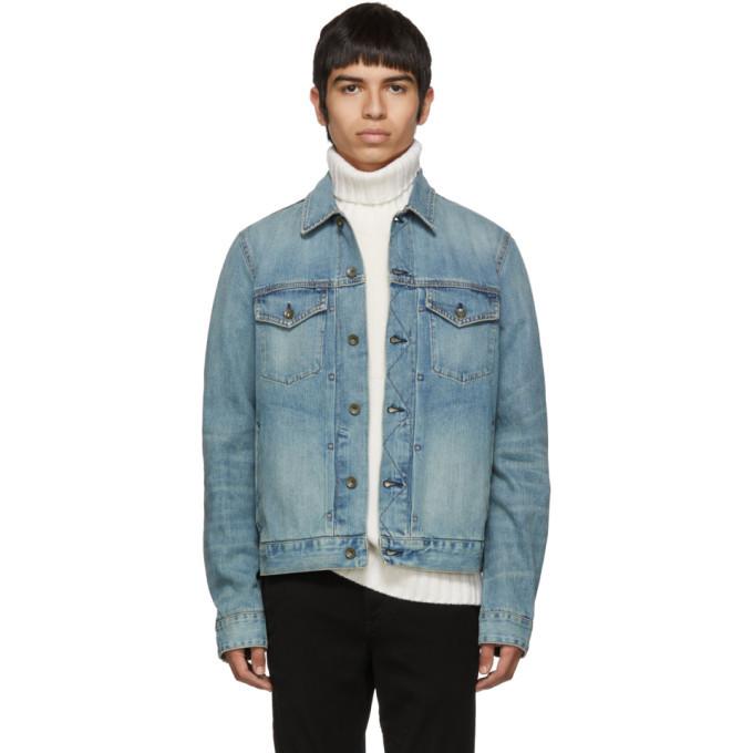 Photo: rag and bone Blue Denim Definitive Jacket