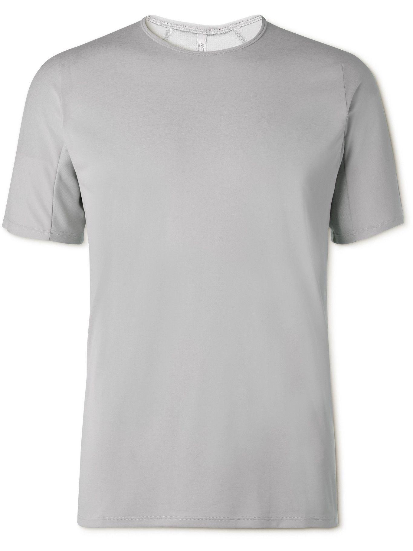 Photo: VEILANCE - Cevian Comp Tech-Jersey T-Shirt - Gray