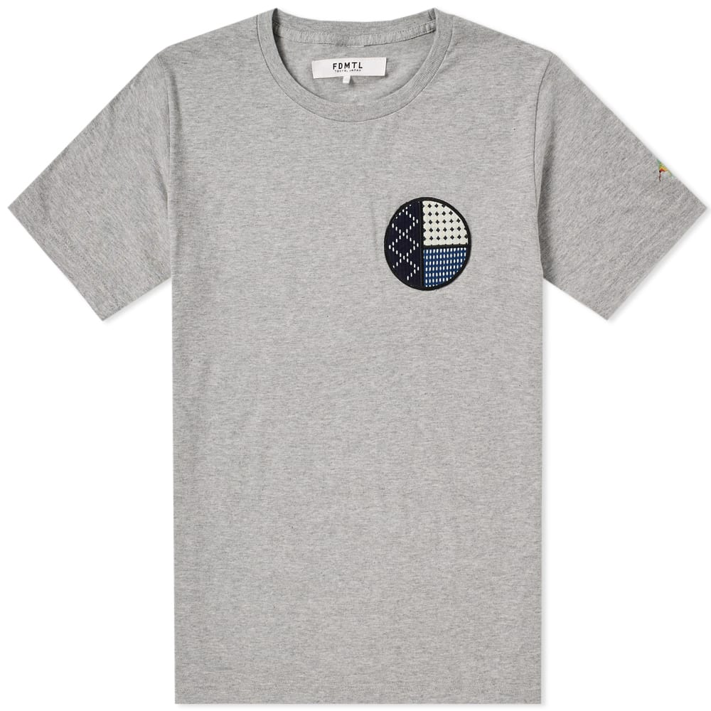 Photo: FDMTL Circle Sashiko Tee