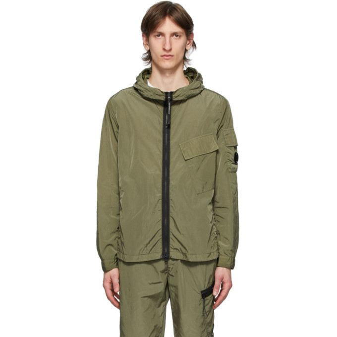 Photo: C.P. Company Green Lens Overshirt Jacket