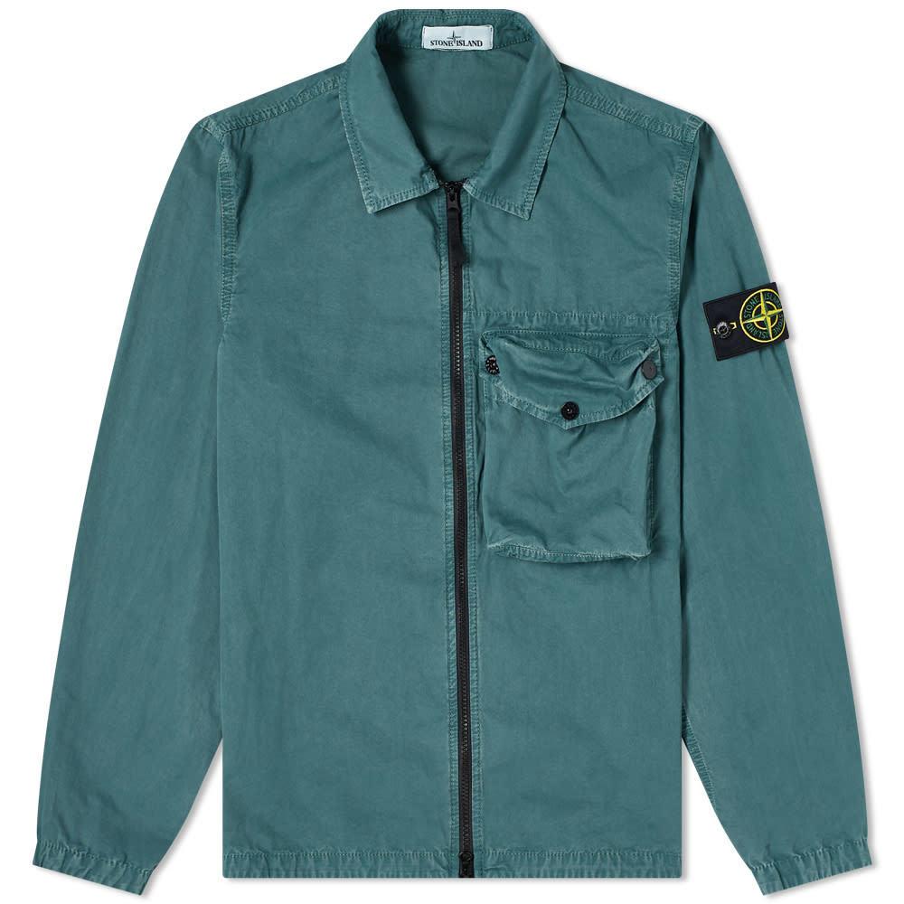 Photo: Stone Island Zip Pocket Overshirt