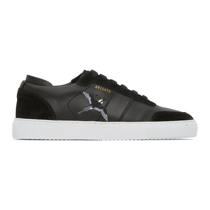 Photo: Axel Arigato Black Dunk Low-Top Sneakers