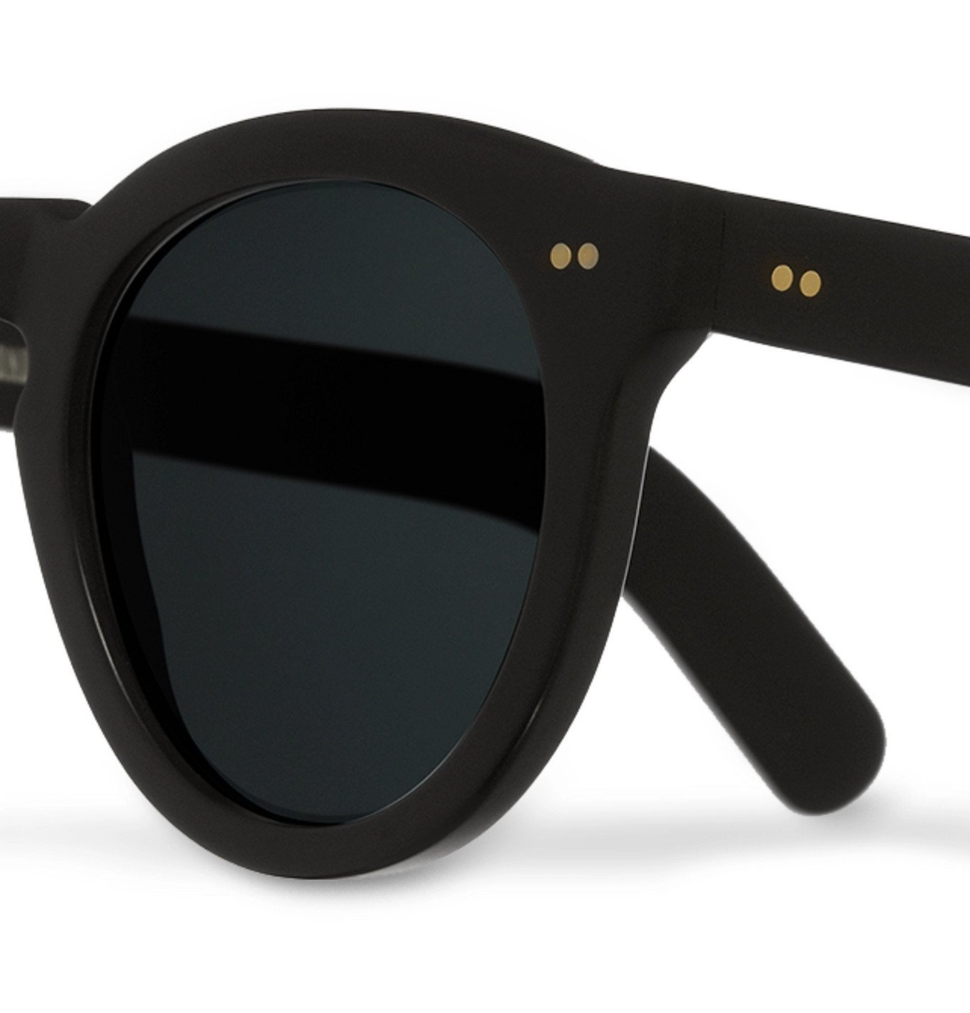 Cutler and Gross - Round-Frame Acetate Sunglasses - Beige