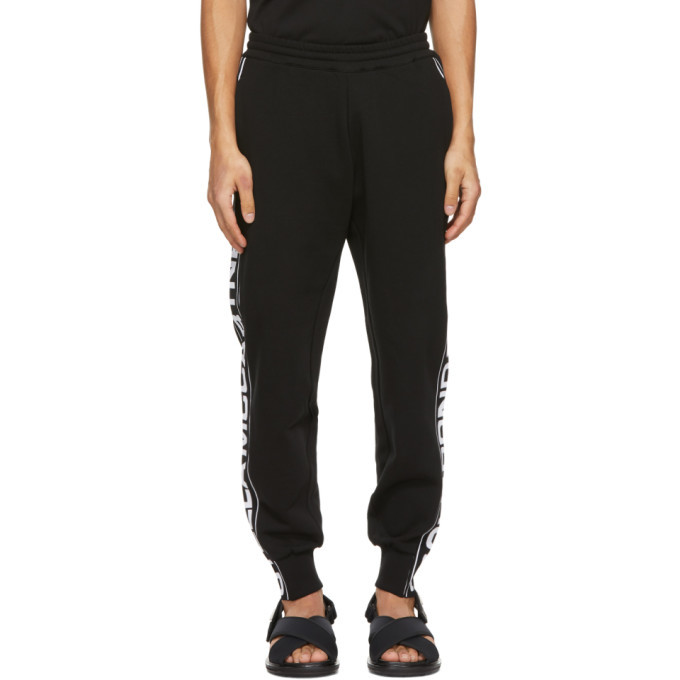 Photo: Stella McCartney Black Shared 23 OBS Knitted Band Lounge Pants