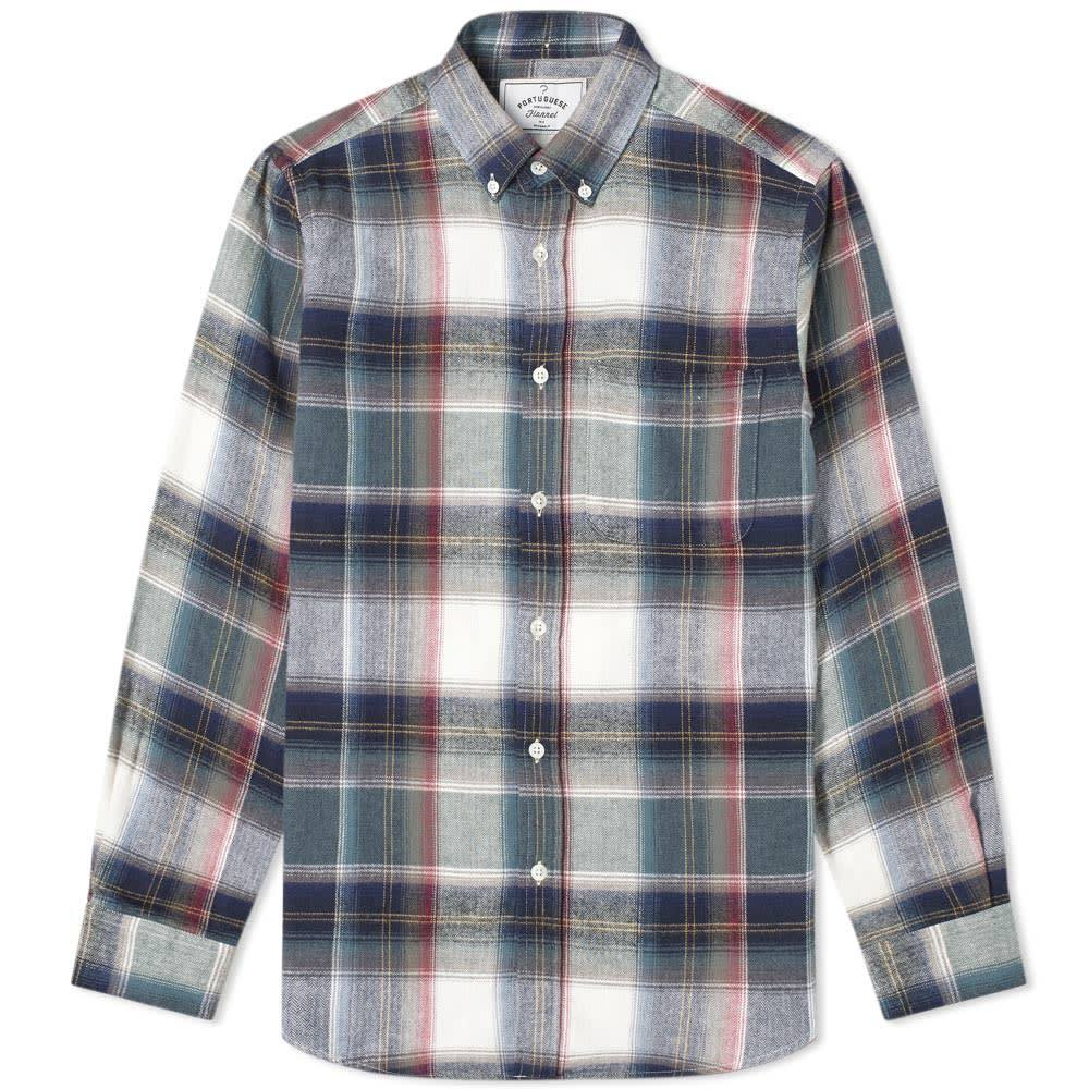 Photo: Portuguese Flannel Club Button Down Check Shirt