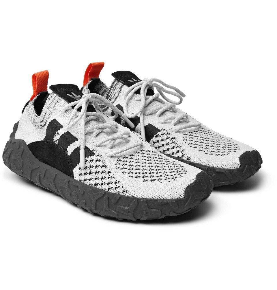 adidas Originals - F/22 Suede-Trimmed Primeknit Sneakers - Men - White