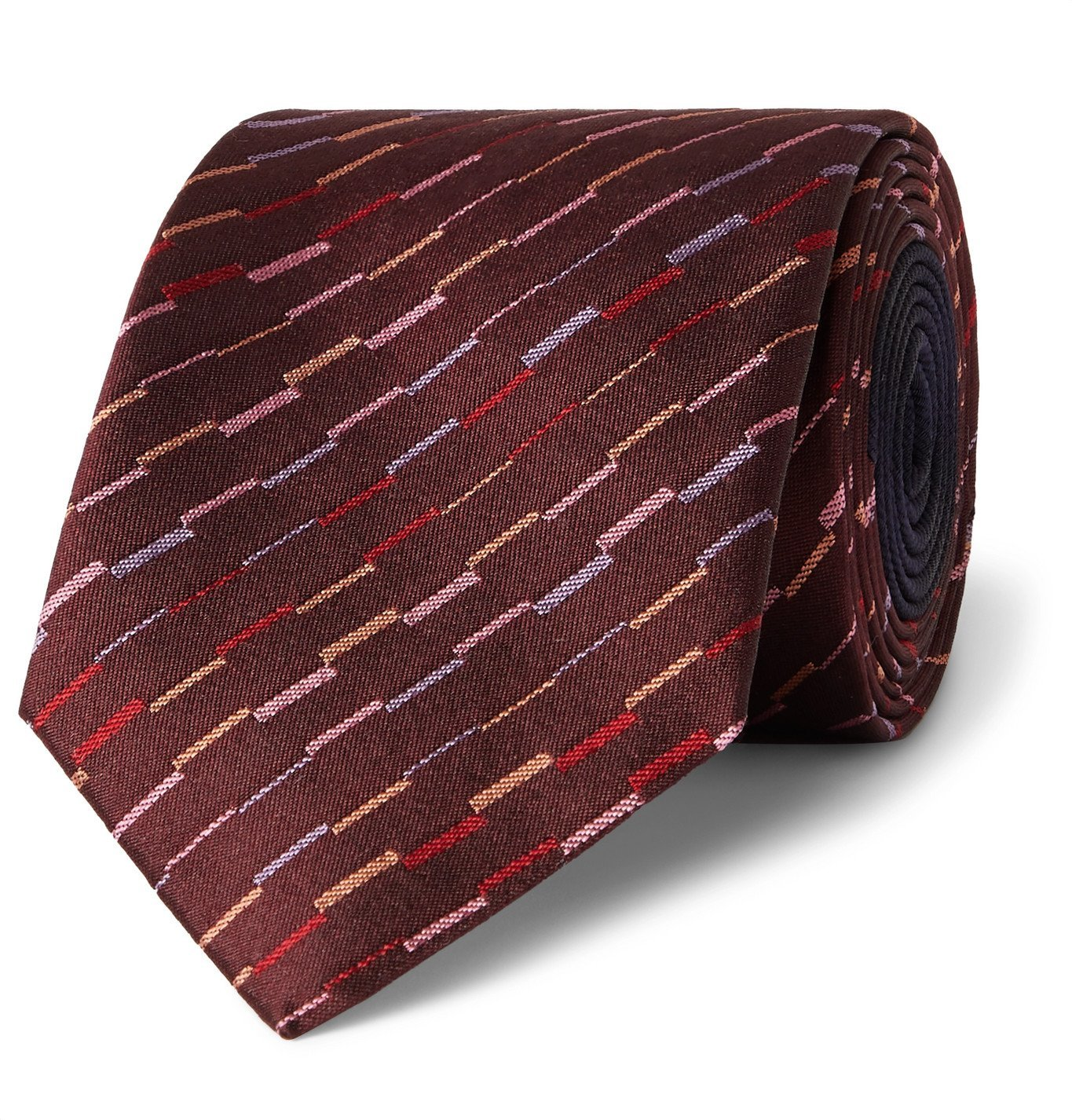 Photo: Missoni - 7cm Silk-Jacquard Tie - Burgundy