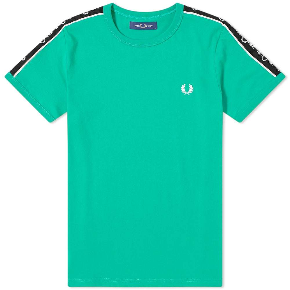 Photo: Fred Perry Authentic Taped Shoulder Tee