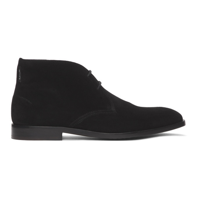 Photo: PS by Paul Smith Black Suede Arni Boots