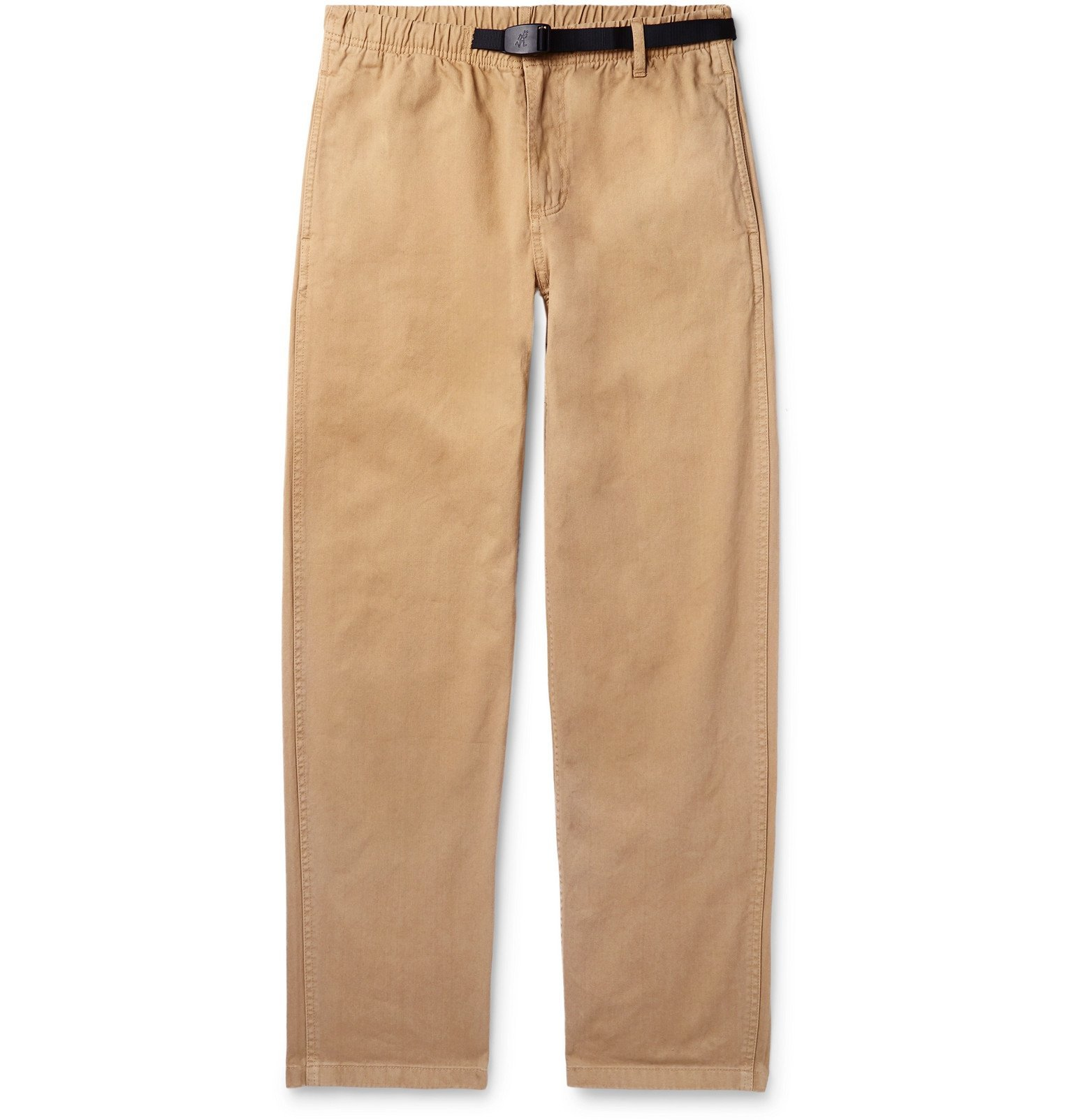Photo: Gramicci - Belted Cotton-Twill Trousers - Neutrals