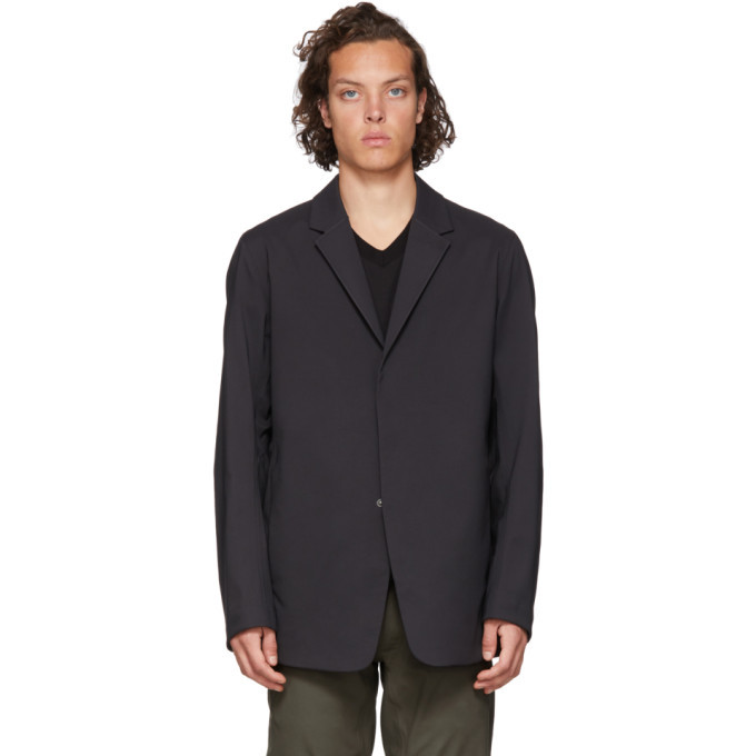 Photo: Veilance Black Indisce Blazer