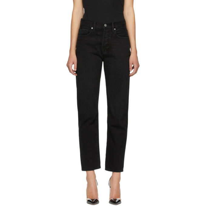 Photo: Frame Black Le Hollywood Crop Jeans