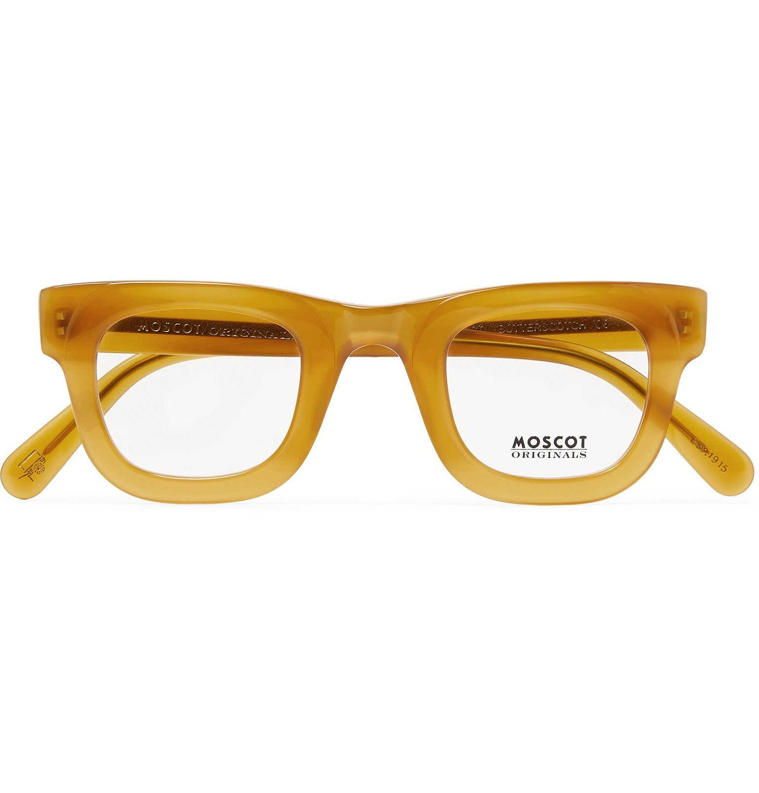 Photo: Moscot - Fritz Round-Frame Acetate Optical Glasses - Brown