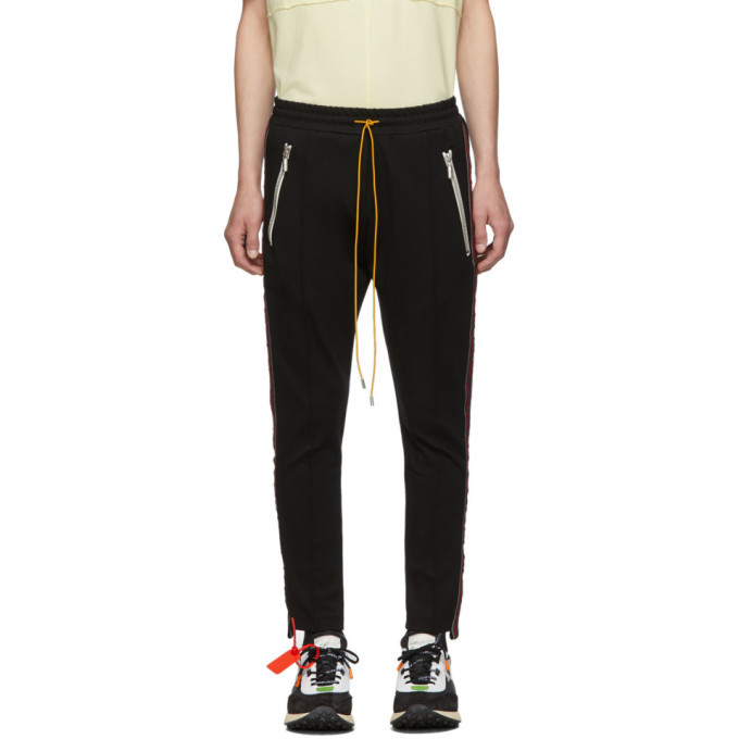 Photo: Rhude Black and Red Traxedo Trousers