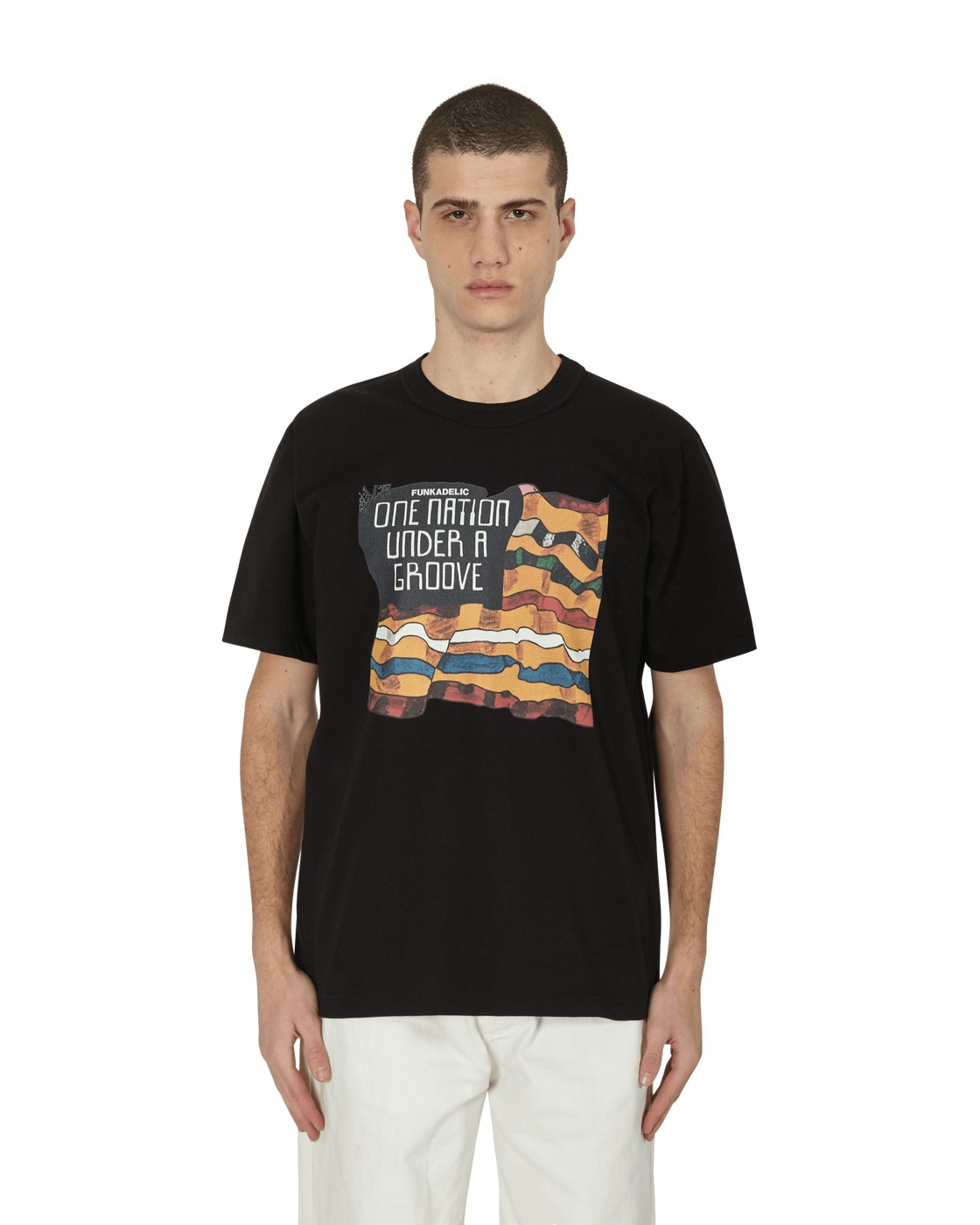 Sacai Funkadelic T Shirt Black