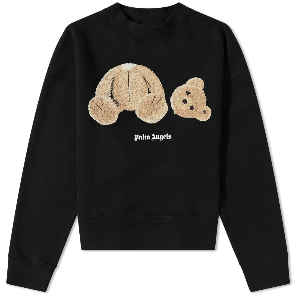 Photo: Palm Angels Bear Fitted Crew Sweat
